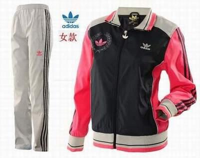 1cdaf5a3b59 survetement adidas femme rose fluo